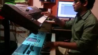 Aji rooth kar ab piano + lead keyboard cover