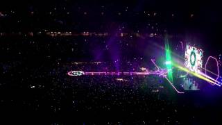 Coldplay Adventure of a life time Live in Singapore
