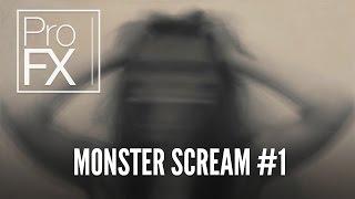 Monster scream sound effect | ProFX (Sound, Sound Effects, Free Sound Effects)