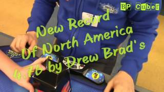New Record of North America 4.76s by Drew Brads
