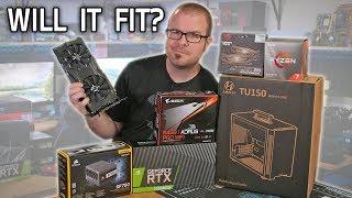 Building a $1750 MINI-ITX Gaming PC in the Lian Li TU150!