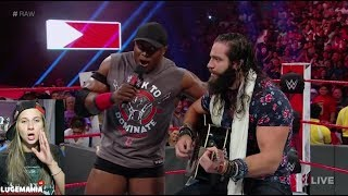 WWE Raw 7/30/18  Bobby Lashley Sings with Elias