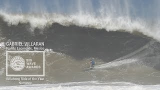 Gabriel Villaran at Puerto - 2015 Billabong Ride of the Year Nominee - WSL Big Wave Awards