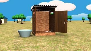शौचालय निर्माण की पूरी विधि toilet construction full method how to make a Home Toilet