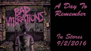 A Day To Remember- In Florida (Bonus Track) Lyrics