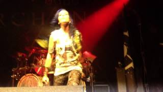 Arch Enemy - You Will Know My Name (Progresja, Warszawa, Poland 13.07.2014)