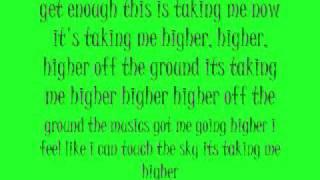 Higher-Taio Cruz FT Travie McCoy Lyrics (Bonus Track)