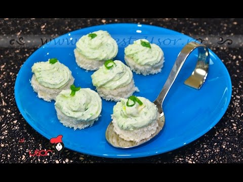 Reteta de Crema de Branza cu Verdeata si Ceapa Verde