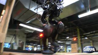 DARPA Robot Masters Stairs