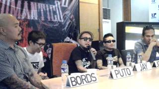KAMIKAZEE RETURNS with ROMANTIKO ALBUM (Press Con)