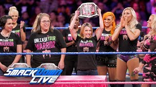 SmackDown and Susan G. Komen honor Breast Cancer Awareness Month: SmackDown LIVE, Oct. 3, 2017