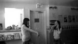 stacey and  kalo dancing