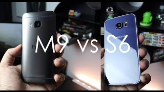 مقارنة بين جهاز Samsung Galaxy S6 Vs HTC One M9