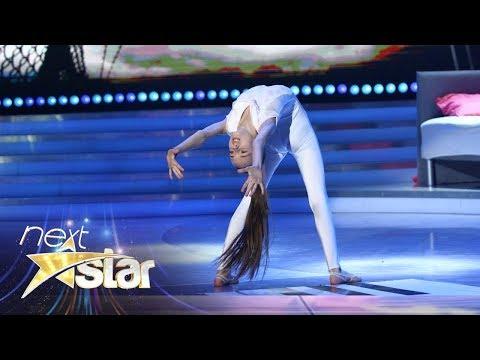 Yasmina Butilă, număr de acro-dance de excepţie, în marea finală Next Star