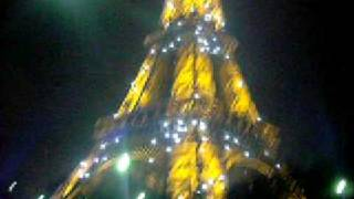 Paris France New Years 2009 at The Effile Tower