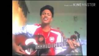 Nepali cover song || bhanchhu aaja || ye mero hajur || nepali cover by nishant karki