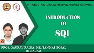 Module P9: Introduction to SQL width=
