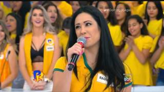 Raquel Benetti no programa Passa ou Repassa - SBT