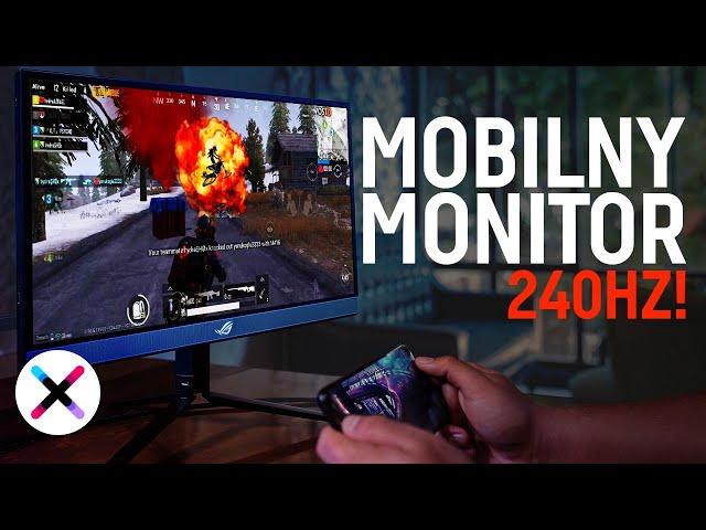 TEGO JESZCZE NIE BYŁO! 💥 |Test, recenzja mobilnego... monitora ASUS ROG STRIX XG17AHP