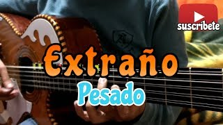 Extraño - Pesado (cover bajo sexto)