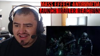 Mass Effect Andromeda Launch Trailer Reaction!