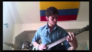 "A talented Colombian... ""Body And Blood - A Perfect Murder"" (Guitar Cover)"