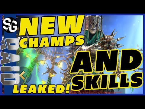 RAID SHADOW LEGENDS | LEAKED NEW CHAMPIONS & SKILLS | NEW STRONG CHAMPIONS 1.15?