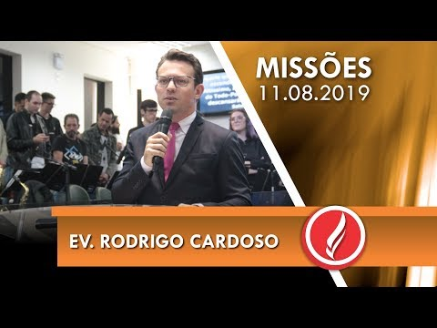 Ev. Rodrigo Cardoso   Ele cuida de ti   Salmos 91   11 08 2019