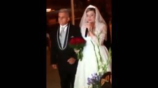 Noiva cantando Jamais deixarei você (Bruna Karla). Casamento Carol & Jonas