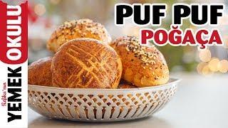 Puf Puf Yumuşak Pastane Poğaçası Tarifi | Mayalı ve Zeytinli Poğaça | Burak'ın Ekmek Teknesi