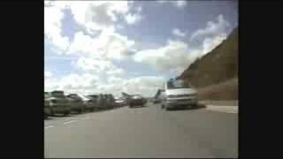 Exmouth Beach Run Timelapse