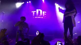 Isaiah Rashad - Stuck in the Mud ft. SZA (Live at the Observatory OC)