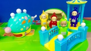 TELETUBBIES Toys Visit In The Night Garden Play Set!