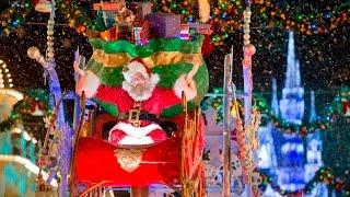 Onde encontrar o Papai Noel na Disney