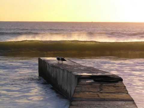 SUNRISE OVER PORT ELIZABETH BEACH