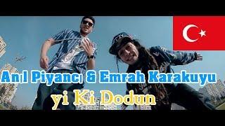 GERMAN REACTS TO TURKISH RAP: Anil Piyanci & Emrah Karakuyu - Iyi Ki Dogdun | cut edition