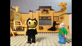 Lego Bendy Meets Baldi