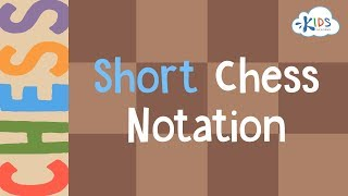 Short Chess Notation