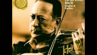 Jasha Heifetz Bach Partita  D Minor Gigue