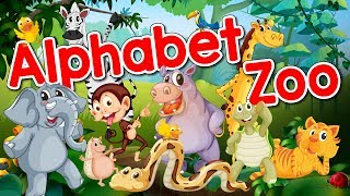 Alphabet Zoo | ABC Song for Kids | Alphabet Song | Jack Hartmann