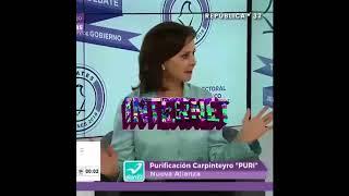 Purificación Carpinteyro se vuelve loca en tercer debate chilango