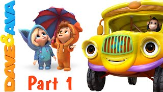 Wheels on the Bus | Nursery Rhymes and Baby Songs from Dave and Ava