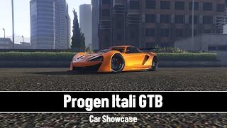 GTA V Car Showcase Progen Itali GTB - GTA V Rockstar Editor