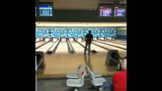 Bart Baker bowls 300