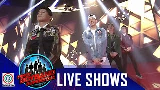 "Pinoy Boyband Superstar Live Shows: Joao, Niel, Russell & Tony - ""Kasayaw"""