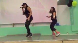 Did Liana Veda sing Te Peago LIVE in Kuwait? Zumba Fitness Masterclass