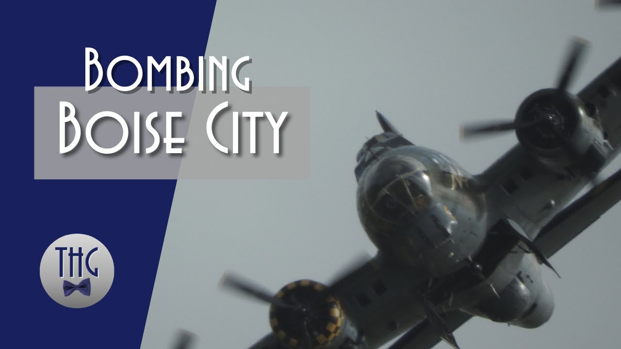 1943 Bombing Raid on Boise City, Oklahoma