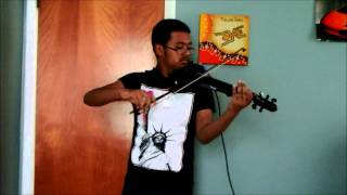 David Guetta - Dangerous ft.Sam Martin, electric violin cover by Steve Ramsingh