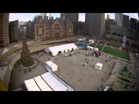 Nathan Phillips Square Zipline