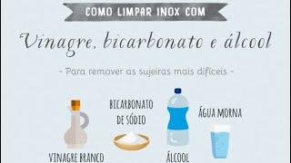 COMO LIMPAR INOX